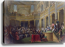 Постер Монсье Николя The Committee of Lyon, 26th January 1802, 1808