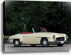 Постер Mercedes-Benz 190SL (R121) '1955–63