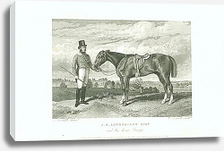 Постер J.H. Lethbridge Esqr. And his horse Trump