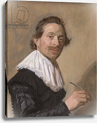 Постер Халс Франс Portrait of Jean de la Chambre at the age of 33, 1638