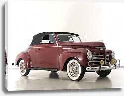 Постер Plymouth Deluxe Convertible Coupe (P10) '1940