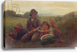 Постер Хомер Уинслоу The Watermelon Boys, 1876