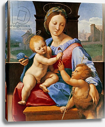 Постер Рафаэль (Raphael Santi) The Aldobrandini Madonna or The Garvagh Madonna, c.1509-10