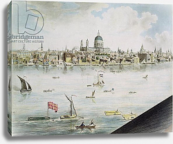Постер Баркер Роберт Panoramic view of London, 1792-93 3