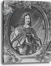 Постер Рубенс (последователи) Ferdinand III, Holy Roman Emperor, engraved by Christoffel Jegher, c.1631-33