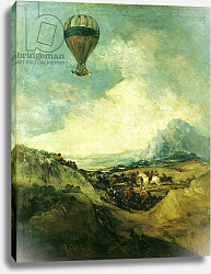 Постер Гойя Франсиско (Francisco de Goya) The Balloon or, The Ascent of the Montgolfier