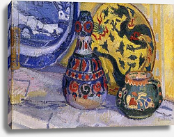 Постер Гор Спенсер Still Life with Oriental Figures, 1913