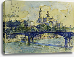 Постер Кросс Анри The Seine in front of the Trocadero; La Seine devant Le Trocadero,