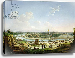 Постер Сейферт General View of Paris from the Chaillot Hill, 1818