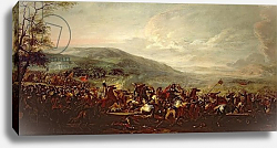 Постер Куртуа Жак Battle between the Hungarians and Turkish