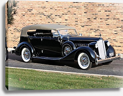 Постер Packard Super Eight Phaeton (1404) '1936
