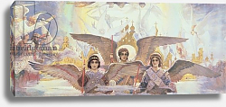 Постер Central Panel from the Threshold of Paradise, 1885-96