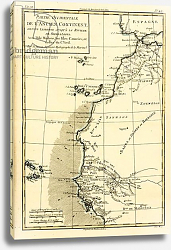 Постер Бонне Чарльз (карты) West Coast of Africa, 1780
