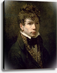 Постер Давид Жак Луи Portrait of the Young Ingres 1790s