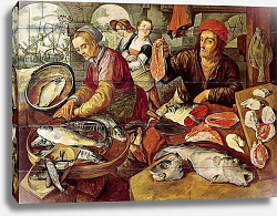Постер Букелар Иохим The Fish Market 2