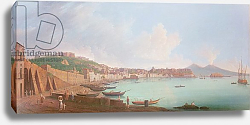 Постер Фабри Пьетро Bay of Naples, 18th century