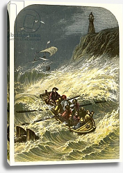 Постер Лидон Александр Robinson Crusoe leaves home and is shipwrecked
