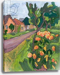 Постер Мартонфи-Бенке Марта Neighbour's Roses, 2008