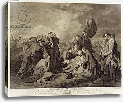 Постер Вест Бенджамин The Death of General Wolfe, engraved by William Woollett c.1776