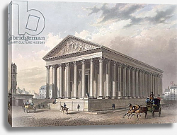 Постер Беност Филип Exterior view of the Madeleine, Paris