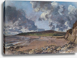 Постер Констебль Джон (John Constable) Weymouth Bay - Bowleaze Cove and Jordon Hill