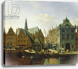 Постер Беркхейде Геррит View of the Spaarne at Haarlem, 1667
