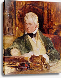 Постер Лэндсир Эдвин Portrait of Sir Walter Scott, c.1824