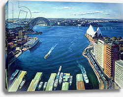 Постер Блеколл Тед (совр) Sydney Harbour, PM, 1995