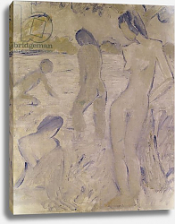 Постер Мюллер Отто The Bathers, 20th century