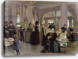 Постер Бакст Леон La Patisserie Gloppe, Champs Elysees, Paris, 1889