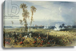 Постер Боссоли Карло The War in Italy: The Battle of Palestro, the King of Sardinia Heading the Troops, 1859