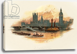 Постер Уилкинсон Чарльз The Houses of Parliament