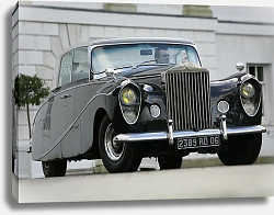 Постер Rolls-Royce Silver Wraith ''Perspex Top'' Saloon by Hooper & Co '1951–59