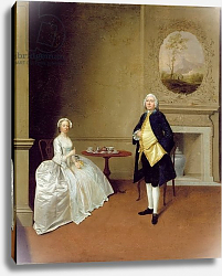 Постер Девис Артур Mr and Mrs Hill, c.1750-51