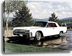 Постер Lincoln Continental Convertible '1964