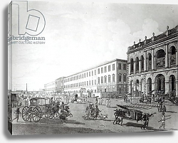 Постер Даниель Томас (грав) The Mayor's Court and Writers' Building, Calcutta, 1786