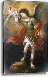 Постер Мурильо Бартоломе Saint Michael banishes the devil to the abyss, 1665/68