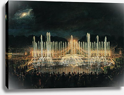 Постер Лами Евген Illuminated Fountain Display in the Bassin de Neptune 21st August 1864