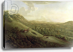Постер Ламберт Джордж A View of Boxhill, Surrey, with Dorking in the Distance, 1733