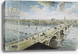 Постер Баркер Роберт Panoramic view of London, 1792-93 4