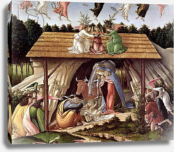 Постер Боттичелли Сандро (Sandro Botticelli) Mystic Nativity, 1500