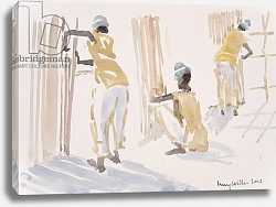 Постер Виллис Люси (совр) The Bamboo Fence, Senegal, 2003