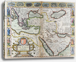 Постер Спид Джон The Turkish Empire, from 'A Prospect of the Most Famous Parts of the World', 1627