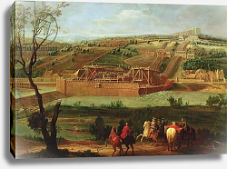 Постер Мартин Пьер View of the Marly Machine and the Aqueduct at Louveciennes, 1722