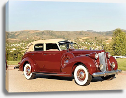 Постер Packard Twelve Collapsible Touring Cabriolet by Brunn '1938