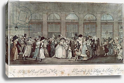 Постер Дебюкур Филибер The Palais Royal Gallery's Walk, 1787