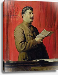 Постер Бродский Исаак Portrait of Josif Stalin, 1933