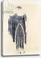Постер Бакст Леон Costume design for Oedipus at Colonnus- Antigone, c. 1899 to 1909