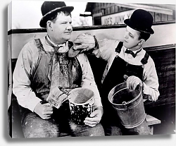 Постер Laurel & Hardy (Towed In A Hole)