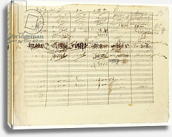 Постер Бетховен Людвиг 'Wellington's Victory, Op. 91', page 36, composed by Ludwig van Beethoven